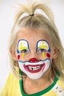 Karnevalové malování na obličej