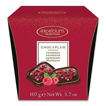 Obrázek produktu Tabulky z hořké čokolády s malinou Hamlet - 107 g
