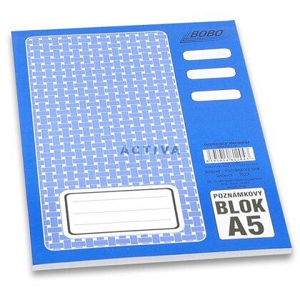Obrázok produktu Bobo - lepený blok - A5, 50 l., čistý