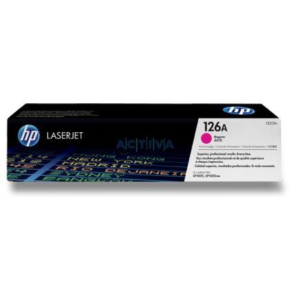 Obrázek produktu HP - toner CE313A, magenta (červený) č. 126A pro laserové tiskárny