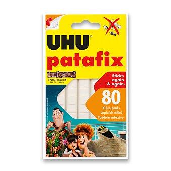 Obrázek produktu Samolepicí montážní guma UHU Tac Patafix Hotel Transylvánie 3 - bílá, 80 ks