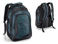 Polyesterový batoh na notebook modrý