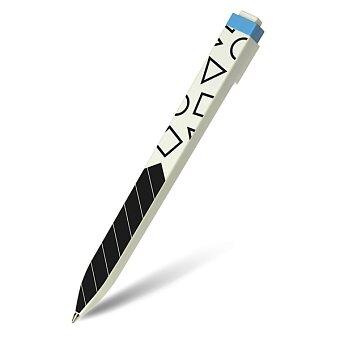 Obrázek produktu Kuličková tužka Moleskine Go Pen Pattern - 1 mm, modrá