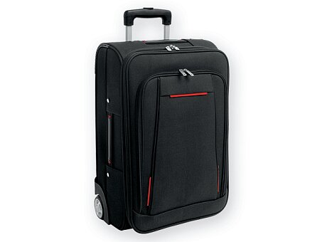 Obrázek produktu Polyesterový cestovní kufr na kolečkách, výběr barev