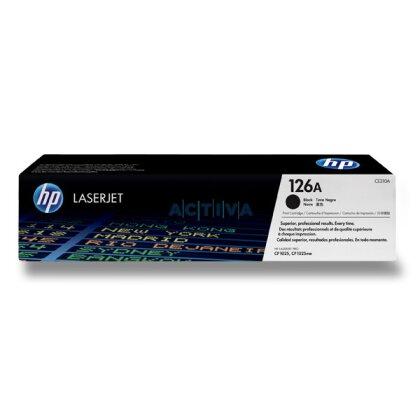Obrázek produktu HP - toner CE310A, black (černý) č. 126A pro laserové tiskárny