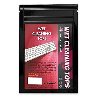 Obrázek produktu Navlhčené tyčinky na čištění klávesnic Clenium Stick - 10 ks