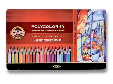 Obrázek produktu Umělecké pastelky Koh-i-noor Polycolor 3825 - 36 barev