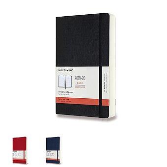 Obrázek produktu 18měsíční diář Moleskine 2019-20 - měkké desky - L, denní, výběr barev