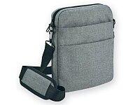 """Taška přes rameno a na notebook do 15,6"""" - šedá"""