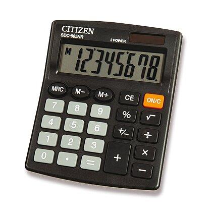Obrázek produktu Citizen SDC-805NR - kancelářský kalkulátor