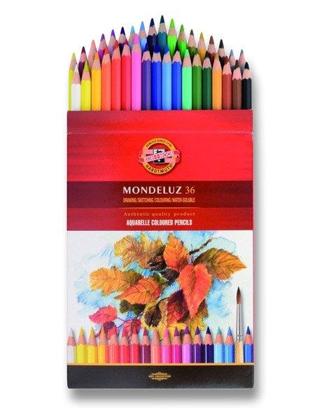 Akvarelové pastelky Koh-i-noor Mondeluz 3719 36 barev KOH-I-NOOR