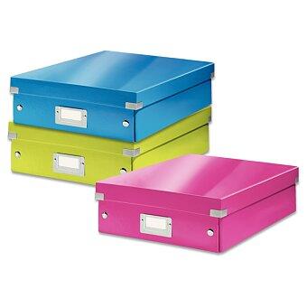 Obrázek produktu Organizační krabice Click & Store vel. M - 280 x 100 x 370 mm, výběr barev