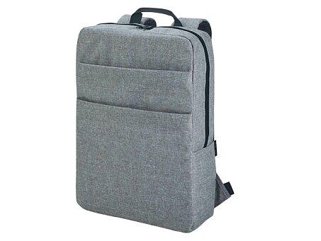 Obrázek produktu Polyesterový batoh na notebook, 600D - šedý