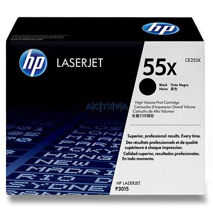 Obrázek produktu HP - toner CE255X, black (černý) č. 55X pro laserové tiskárny