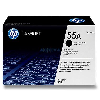 Obrázek produktu HP - toner CE255A, black (černý) č. 55A pro laserové barevné tiskárny