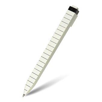 Obrázek produktu Kuličková tužka Moleskine Go Pen - linkovaná, bílá, 1 mm
