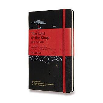 Obrázek produktu Zápisník Moleskine Lord Of Rings - tvrdé desky - L, linkovaný, černý