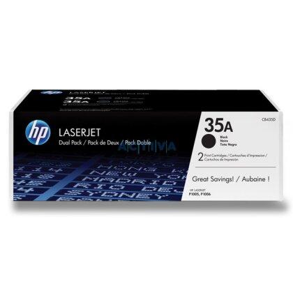 Obrázek produktu HP - toner CB435AD, dual pack pro laserové tiskárny