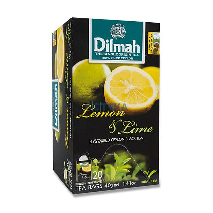 Obrázek produktu Dilmah - černý čaj - Citron, limetka