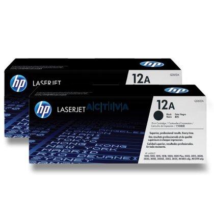 Obrázek produktu HP - toner Q2612AD, dual pack pro laserové černobílé tiskárny
