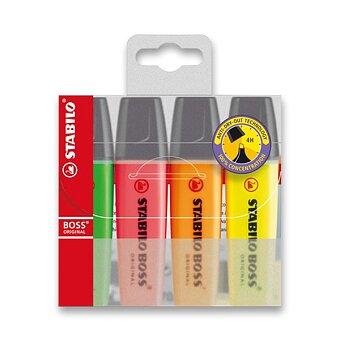 Obrázek produktu Zvýrazňovač Stabilo Boss Original - sada 4 barev