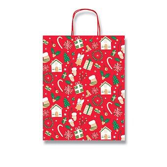 Obrázek produktu Dárková taška Fantasia Christmas - různé rozměry