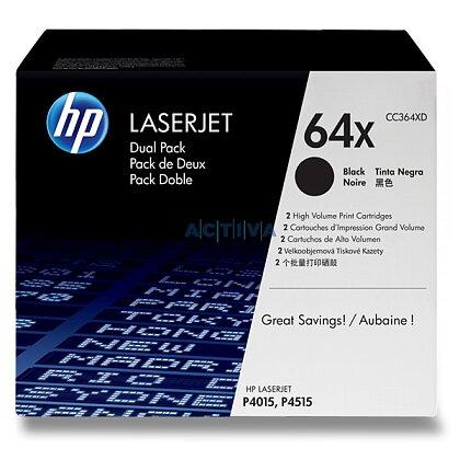 Obrázek produktu HP - toner CC364XD, dual pack pro laserové tiskárny