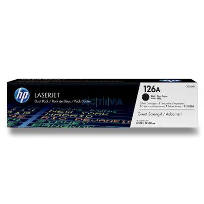Obrázek produktu HP - toner CE310AD, dual pack pro laserové tiskárny