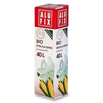 Obrázek produktu 100% odbouratelné pytle na odpad Alufix Bio - 40 l, 8 ks, 15 mikronů
