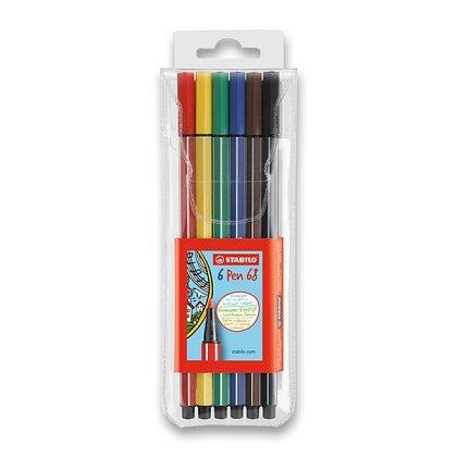 Obrázek produktu Stabilo Pen 68 - popisovač - 6 barev