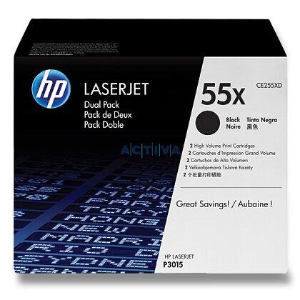 Obrázek produktu HP - toner CE255XD, dual pack pro laserové tiskárny