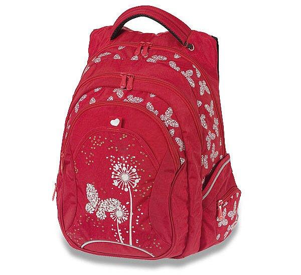 Školní batoh Walker Fun Paradise - červený 6c691cc28e
