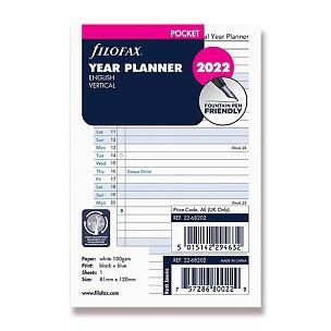 Roční plánovací kalendář 2022, Aj