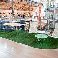 Expozice zahradního nábytku v Pavilonu