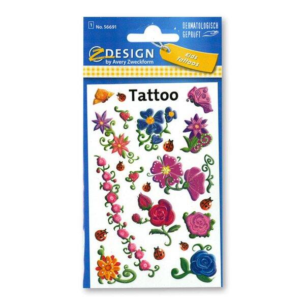 Tetování Avery Květy