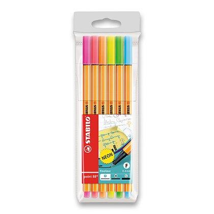 Obrázek produktu Stabilo Point 88 Neon - liner -6 barev