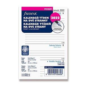 Týdenní kalendář 2022, Čj