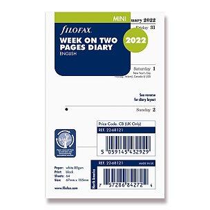 Týdenní kalendář 2022, Aj