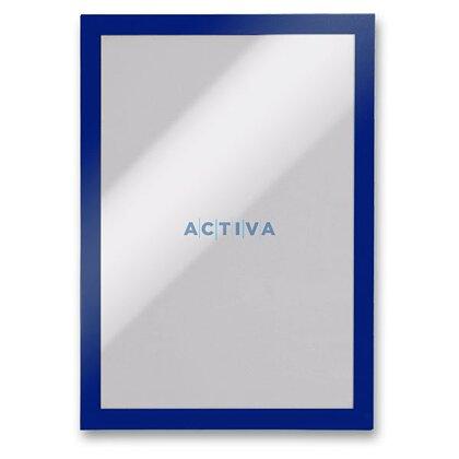 Obrázek produktu Durable Duraframe A4 - informační panel - A4, 2 ks, modrý