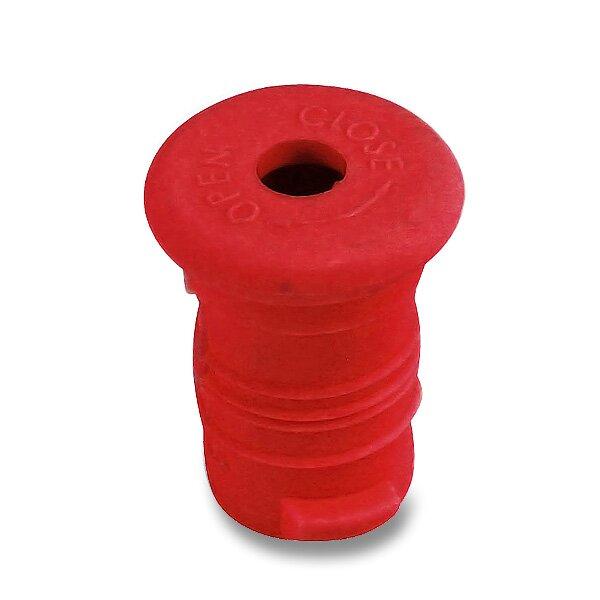 Zátka na Zdravou lahev červená