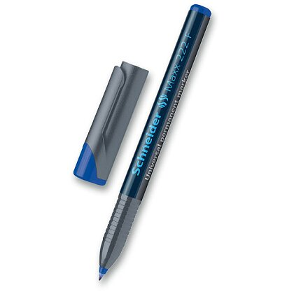 Obrázek produktu Schneider Maxx 222 F - permanentní popisovač - modrý
