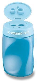 Obrázek produktu Ořezávátko Stabilo EASYsharpener - pro leváky, modré - 3 otvory