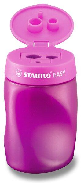 Ořezávátko Stabilo EASYsharpener - pro praváky, růžové 3 otvory