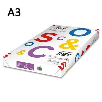 Obrázek produktu Kancelářský papír Rey Copy - A3, 80 g, 500 listů