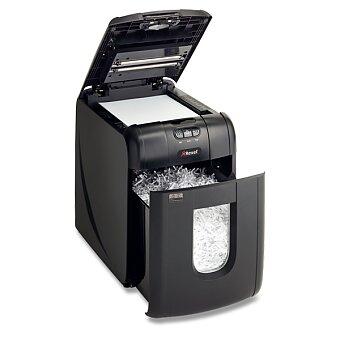 Obrázek produktu Skartovačka Rexel Auto+ 130 Micro - automat, příčný řez 2 x 15 mm