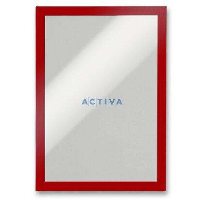 Obrázek produktu Durable Duraframe A4 - informační panel - A4, 2 ks, červený