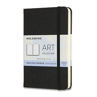 Obrázek produktu Skicář Moleskine Watercolour Notebook - S, černý