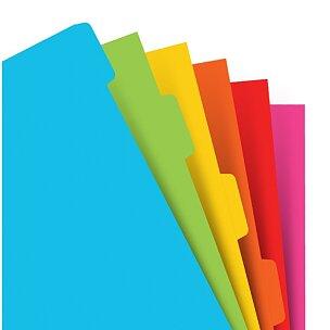 Krajové výřezy, barevné