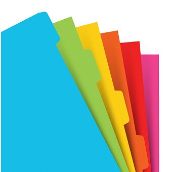 Obrázek produktu Krajové výřezy, barevné - náplň osobních diářů Filofax