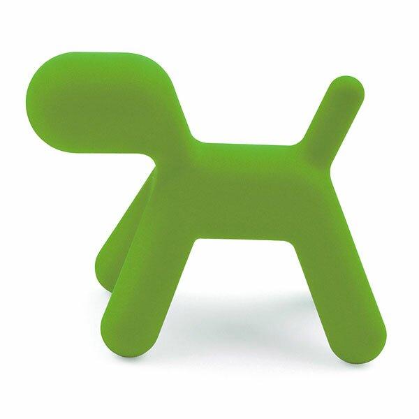 Dětská stolička Magis Puppy - velikost S zelená